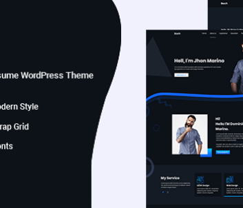 Best personal profile wordpress theme free download for personal branding 2021