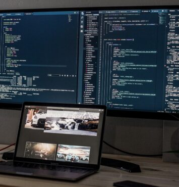 Software Company Web UX Design